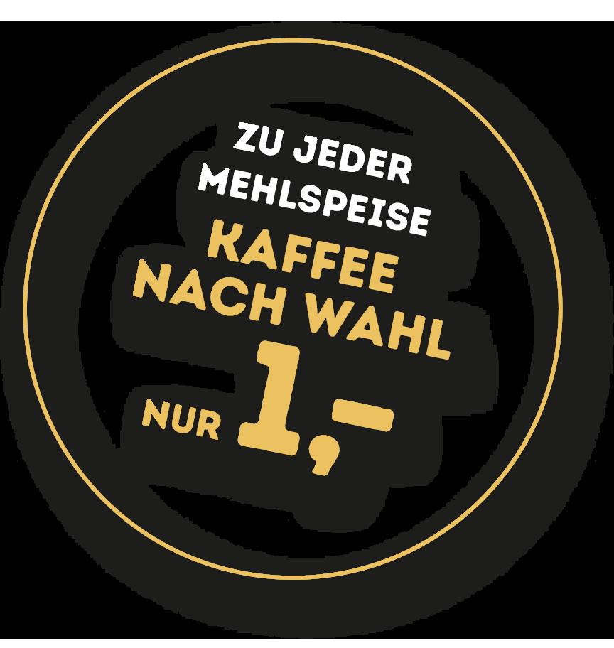 Kaffeebohnus badge